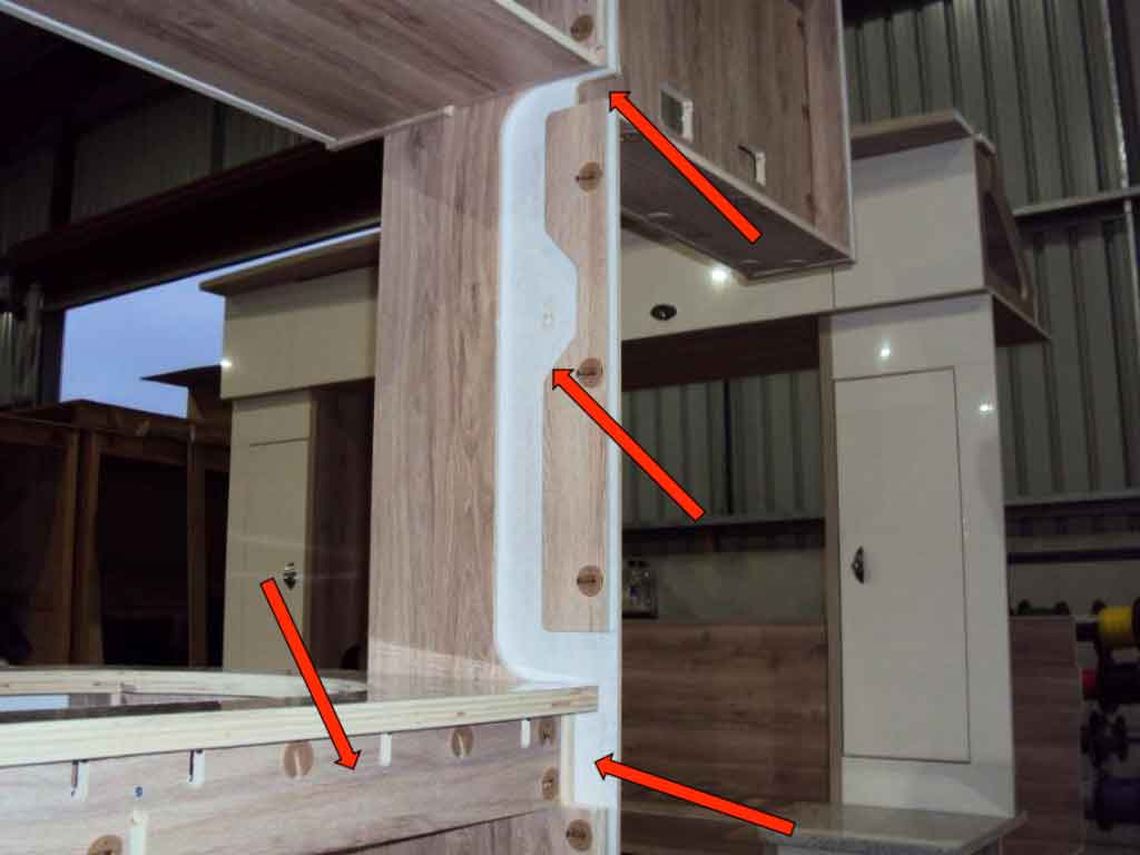 Willow RV Caravan Construction | Australian Made Caravan
