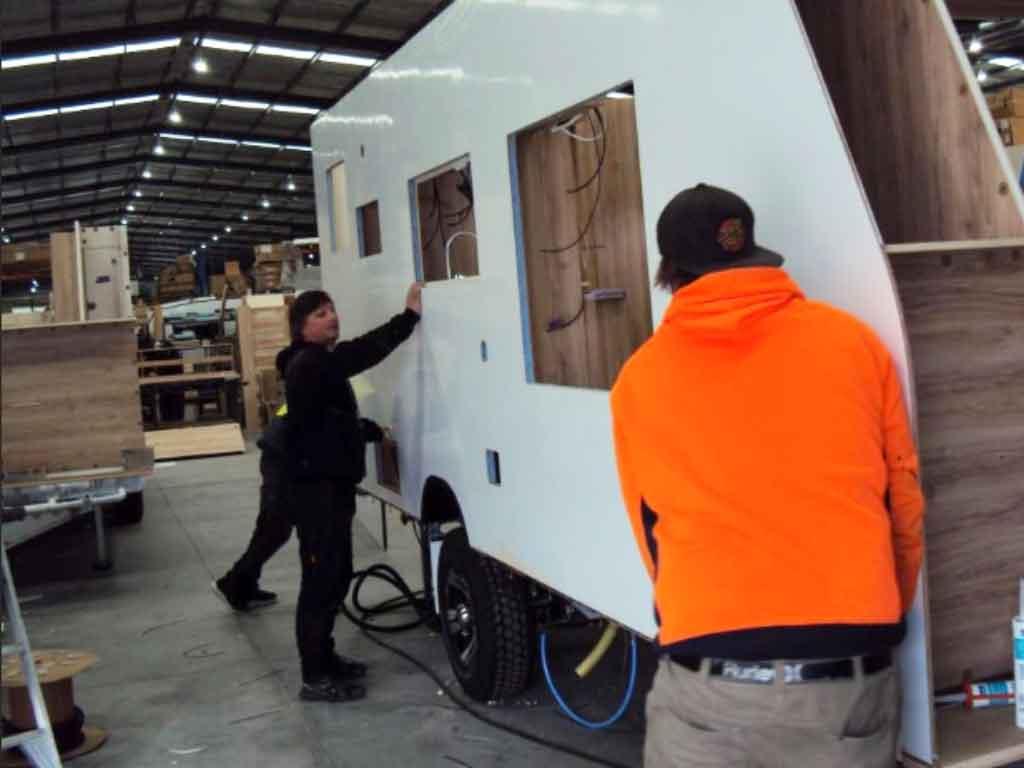 Willow RV Caravan Construction   Australian Made Caravan